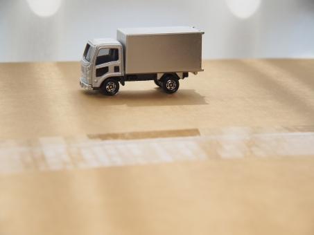 宅急便のトラックの写真