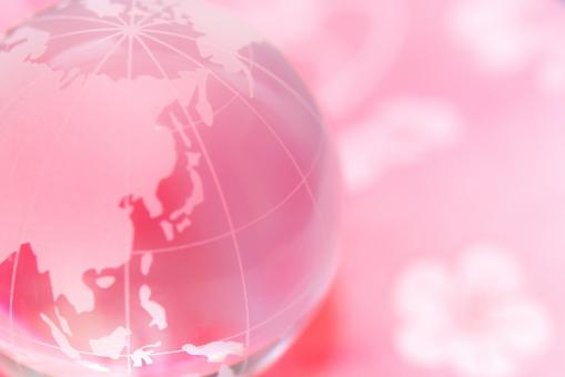 桜色日本の写真