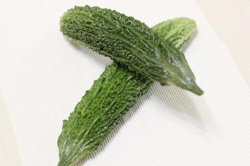 ゴーヤー ゴーヤ にがうり 苦瓜 夏野菜 野菜 レイシ 夏バテ 緑 沖縄 おきなわ ビタミンc つる性植物 苦い 2本