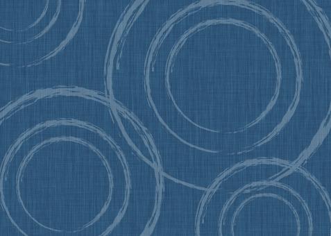 A3 布 質感 紺 波紋の写真