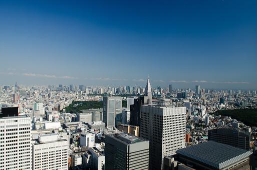 東京 東京都 新宿 新宿区 高層ビル 高層マンション タワービル タワーマンション ビル群 オフィスビル 超高層ビル 摩天楼 空 青空 快晴 晴天 ビジネス 晴れ 建物 建造物 建築物 東京 高い ビジネスイメージ 建造物 都心 東京遠景 遠景