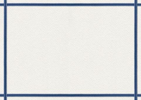 素材 壁紙 かわいい カード 紙 カントリー 飾り罫 飾り 囲み 囲い わく 枠 和紙 背景 バック パーツ 手芸 四角 しかく りぼん リボン 縁取り 縁 ふち 年賀状 ハンドメイド 青 紺