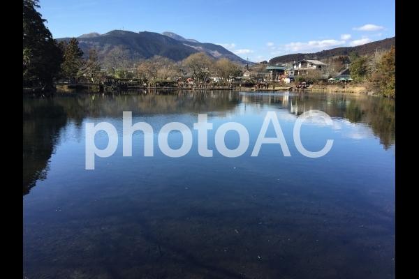 金鱗湖の写真