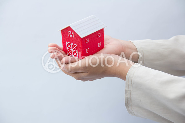 家の模型影133の写真