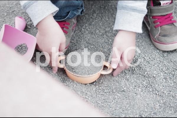 砂遊び2の写真