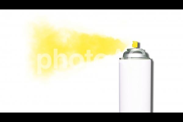 スプレー缶/イエローの写真