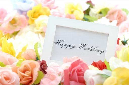 happy wedding フレーム 額 メッセージ 結婚 ブライダル ウエディング 愛 恋 花 バック テクスチャ バックグラウンド 壁紙 カラフル