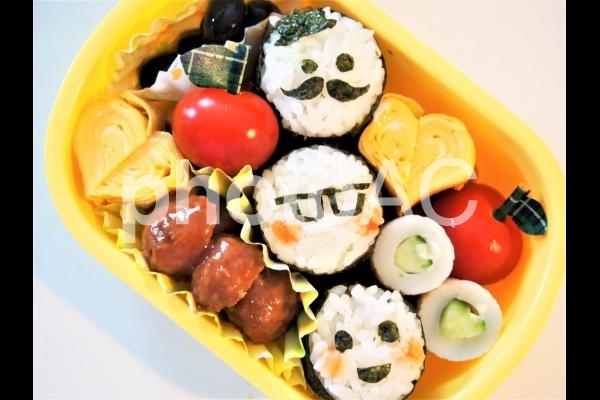 園児のお弁当の写真