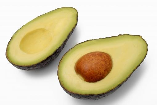 アボカド 果物 野菜 健康食材 森のバター ヘルシー 断面 不飽和脂肪酸 アボガド ワニナシ がん予防