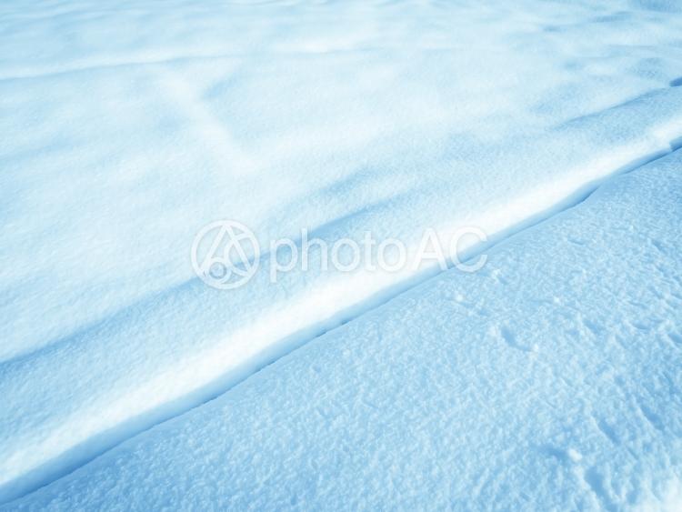 雪の大地の写真