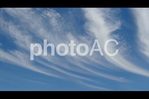 青空と流れる雲 3の写真