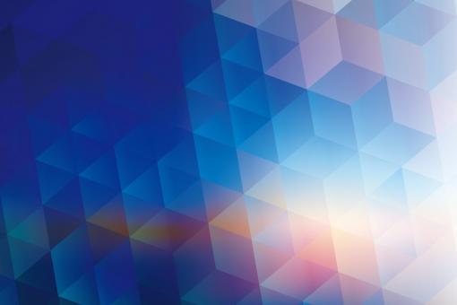 夜明け グラデーション ファンタジー わくわく 夢 宇宙 背景 テクスチャ 春 抽象的 光 空 フレーム 白 キラキラ 幾何学 テクノロジー パソコン コンピュータ グラフィック デジタル 青 ブルー 紫 寒い 冷たい 雪 海 三角形 六角形