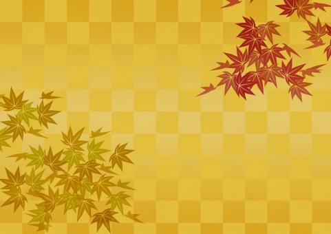 テクスチャ  テクスチャー  伝統模様   市松模様  背景  金  金箔  ゴールド  金屏風  背景素材 工芸  壁紙  屏風  和紙 歌舞伎 慶事 お正月 紅葉 もみじ かえで 和柄 壁紙