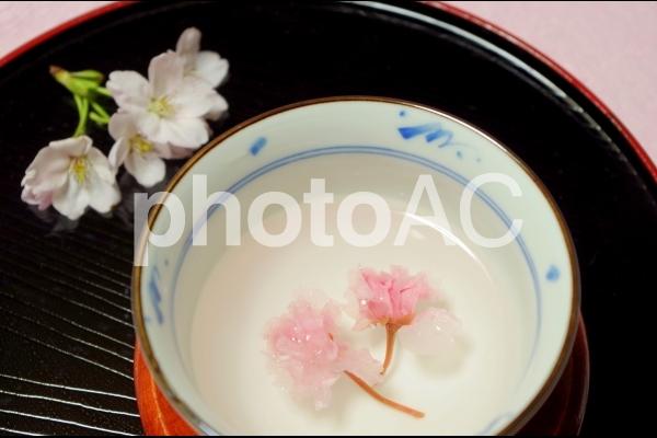 桜湯の写真