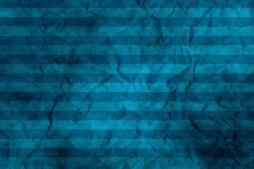 和紙 色紙 台紙 紙 ちぢれ ゴワゴワ 凸凹 テクスチャー 背景 背景画像 ファイバー 繊維 しわ くしゃくしゃ ストライプ シマ 縞模様 ボーダー 青 水色 ブルー セロリアンブルー 空色 ブラック 浅葱