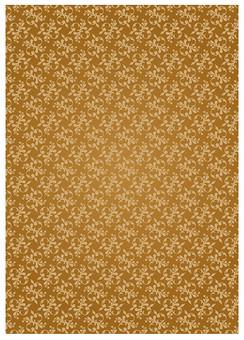 背景 テクスチャ テクスチャー バックグラウンド 背景素材 アップ 模様 正面  ポスター グラフィック ポストカード 柄 デザイン 素材  フレーム 装飾  全面  包装紙 包み イラストペーパー パターン 花 植物 蔦 つた ゴールド 金