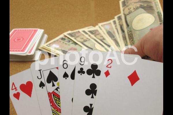 ポーカー はったりの写真