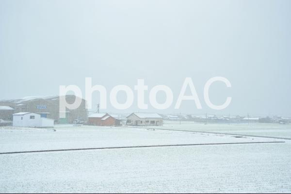 雪景色の写真