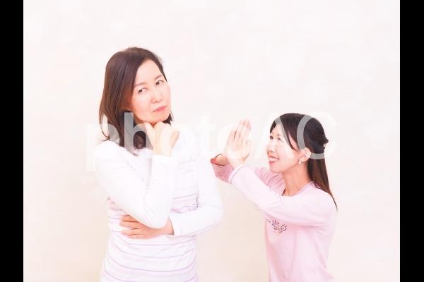 人物 母と娘 32の写真
