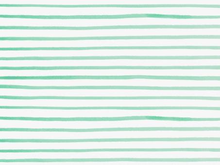 水彩 水彩画 絵の具 水彩絵の具 筆 ラフ フリーハンド 線 ボーダー しましま 縞 柄 模様 テクスチャー テクスチャ 背景 バック バックグラウンド ライン 横縞模様 ハンドメイド 手書き 手描き 手作り 手作り感 ナチュラル ガーリー かわいい 子ども さわやか 爽やか すっきり シンプル トレンド マリン 夏 明るい 春 イメージ 緑 グリーン