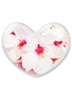 ハート はーと heart 素材 背景 アイコン ラブ love 愛 ロマンチック バレンタイン フレーム クリスタル風 枠 はな 花 華 さくら サクラ 桜 ピンク 白バック