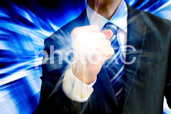 ビジネスマン パワーと可能性の写真