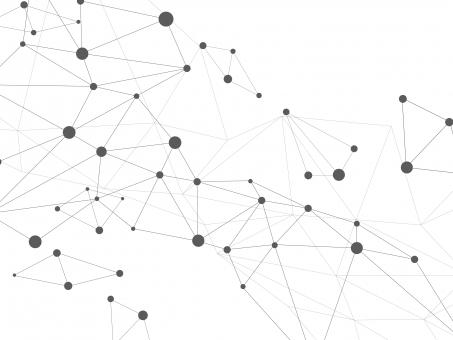 ネットワーク イメージ シンプルの写真