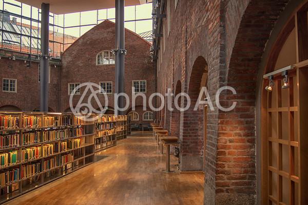 スウェーデン KTH 図書室4の写真