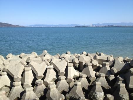 海 博多 港 博多湾 海岸
