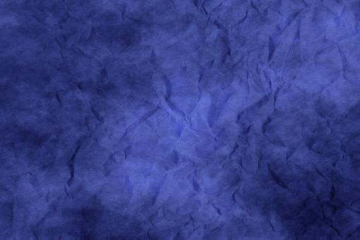 和紙 色紙 台紙 紙 ちぢれ ゴワゴワ 凸凹 テクスチャー 背景 背景画像 ファイバー 繊維 しわ くしゃくしゃ 青 ブルー 紺 紺色 群青 ウルトラマリン 紫 青紫