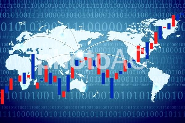 株価上昇 ビジネス7の写真