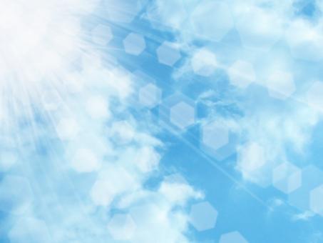 空と光背景02の写真
