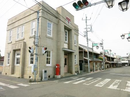 街並 通り 町 郵便局 真壁 城下町 茨城 15 郷愁 ノスタルジー レトロ