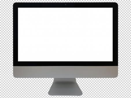 デスクトップパソコン(PSDファイル)の写真
