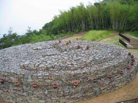 風景 自然 建造物 歴史 遺跡 古墳 前方後円墳 善通寺 大麻山