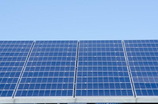 ソーラー ソーラーパネル 青空 空 晴れ 晴天 天気 エコ 環境 電気 電力 自然 オール電化 太陽電池 発電 太陽光 光 節電 節約 熱 エネルギー クリーン 日光 ブルー スカイブルー エネルギー