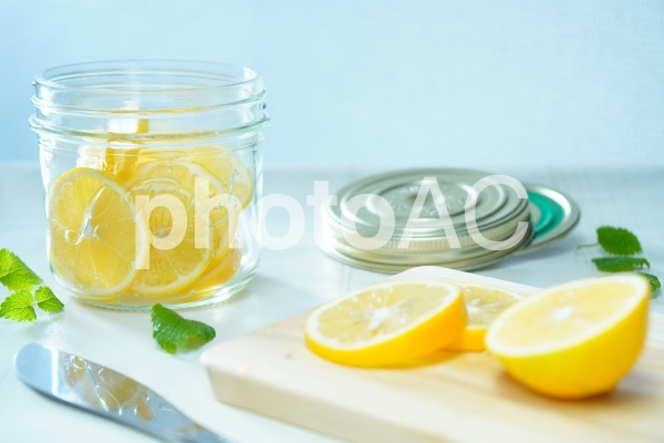 檸檬のはちみつ漬けの写真