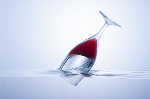 水とグラス-3の写真