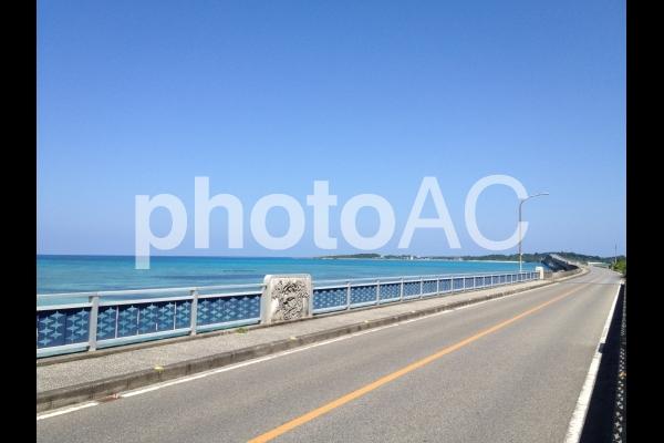 宮古島の橋の写真