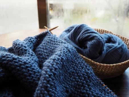 編み物の写真