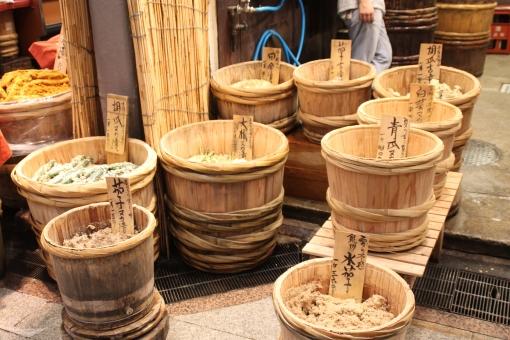 ぬか漬け たる ぬか 漬物 日本 japan tsukemono 和食 和 和風 樽