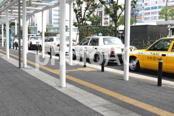 タクシー乗り場の写真