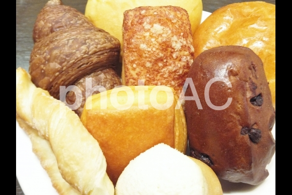 パンの食べ放題 2の写真