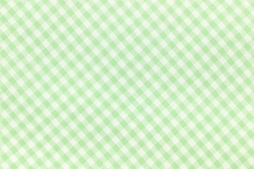 布 織物 チェック 格子 生地 綿 木綿 背景 背景素材 バック パターン バックグラウンド テーブルクロス 柄 模様 テクスチャ テクスチャー 素材 壁紙 テキスタイル 布地 チェック柄 ギンガムチェック カジュアル ナチュラル  緑色 グリーン 黄緑色