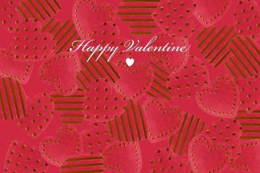 ハート ハート型 バレンタイン バレンタインデー heart 赤 情熱 ピンク ハートいっぱい ドット ストライプ ボーダー 熱々 テクスチャ 背景 メッセージカード グリーティングカード メッセージ 英文字 英語 挨拶 あいさつ