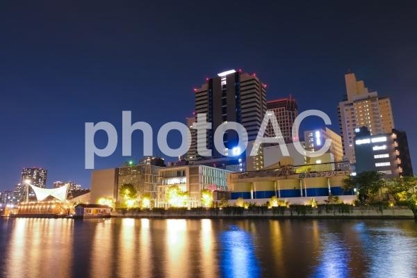 天王洲アイル 夜景の写真