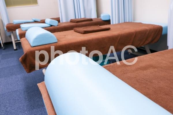 治療院のベットの写真