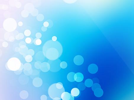 テクスチャ テクスチャー バックグラウンド 背景素材 アップ 模様 正面  ポスター グラフィック ポストカード 柄 デザイン 紙 素材 絵 光 反射 輝き ポップ 丸 円 ライト グラデーション 海 朝 青 あお ブルー 白 眩しい
