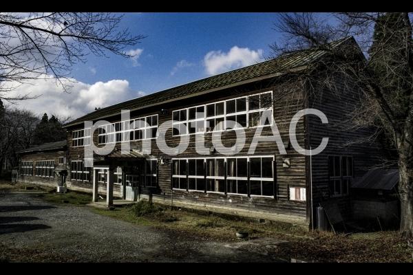 廃校の写真