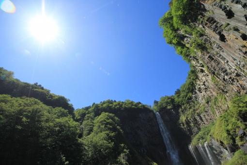 華厳滝 華厳の滝 滝 日光 大谷川 名瀑 名勝 自然 栃木 風景
